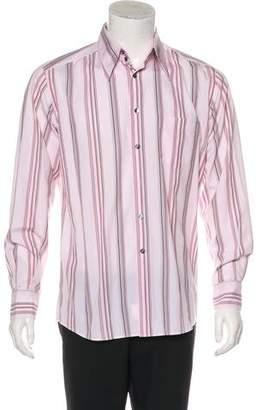 Dolce & Gabbana Striped Button-Up Shirt