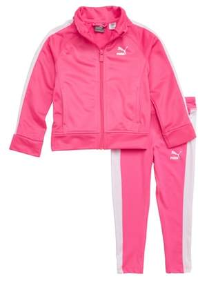 Puma Logo Track Jacket & Leggings Set