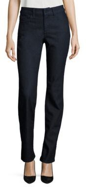 NYDJ Marylin Straight-Leg Jeans $114 thestylecure.com