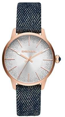 Diesel Women's Analogue Quartz Watch with Textile Strap DZ5566
