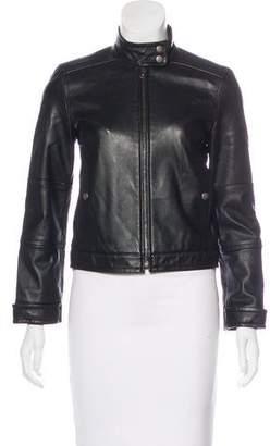 Theory Tatiana Leather Jacket