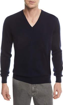 Ermenegildo Zegna Cashmere V-Neck Pullover Sweater