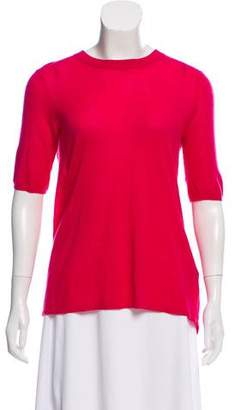 Isabel Marant Cashmere Short Sleeve Top