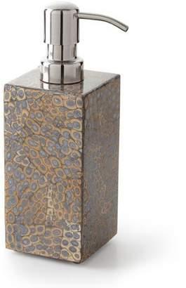 Pigeon and Poodle Callas Silver Soap Pump Dispenser