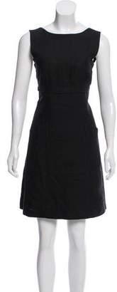 Alberta Ferretti Linen Mini Dress