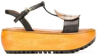 Marni resin platform sandals