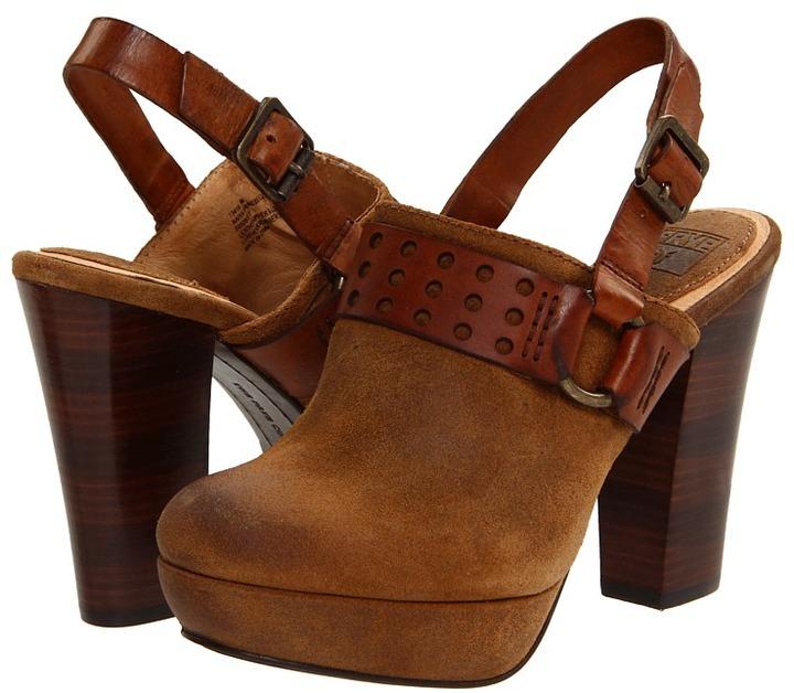 Frye Naiya Harness Clog (Tan) - Footwear