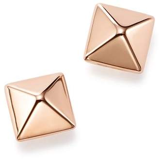 Bloomingdale's 14K Rose Gold Small Pyramid Post Earrings - 100% Exclusive
