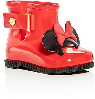 Mini Melissa Girls' Disney Mini Sugar Rain Boots - Walker, Toddler