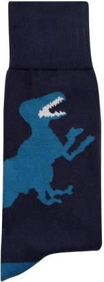 Paul Smith Dinosaur Socks