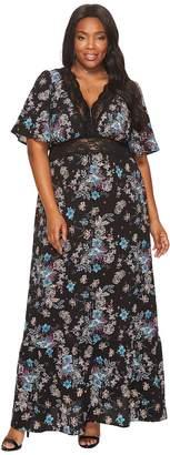 Kiyonna Daydream Maxi Dress Women's Dress