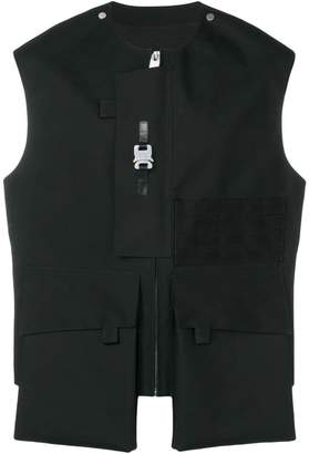 MACKINTOSH ALYX Black Bonded Wool Vest