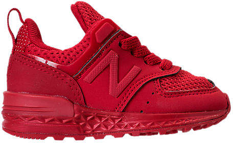 Boys' Toddler 574 Sport Casual Shoes, Red