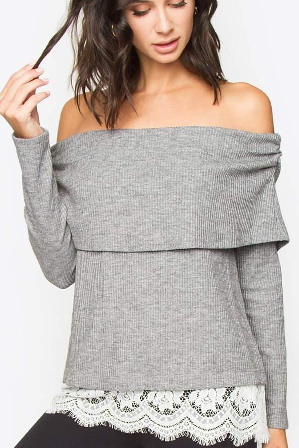 Ots Peek-a-Boo Sweater
