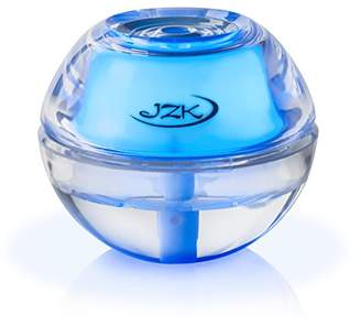 JZK Mini Portable Personal Cool Mist Air Humidifier Diffuser with Blue Night Light for Travel