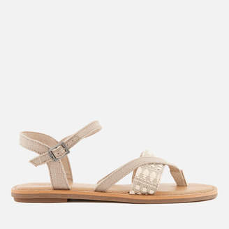 52c2facfbc7 Toms Women s Lexie Strappy Sandals - Oxford Tan