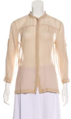 CNC Costume National Long Sleeve Button-Up Top w/ Tags