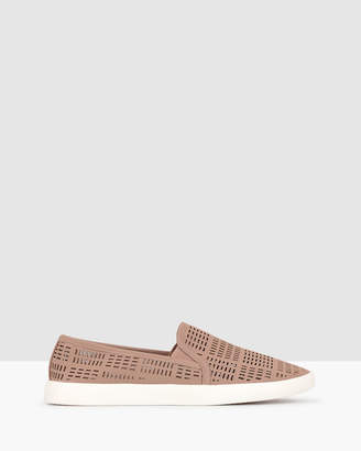 betts Roy Perforated Slip On Loafers