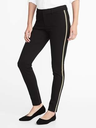 Old Navy Mid-Rise Side-Stripe Pixie Full-Length Pants for Women