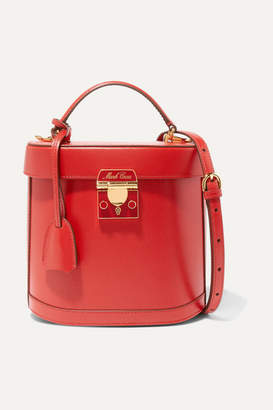 Mark Cross Benchley Textured-leather Shoulder Bag