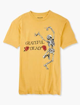 Lucky Brand GRATEFUL DEAD SKELETON TEE