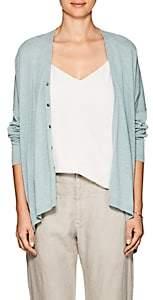 Pas De Calais Women's Oversized Cotton-Blend Cardigan-Turquoise
