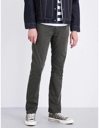 Nudie Jeans Slim Adam slim-fit cotton-twill trousers