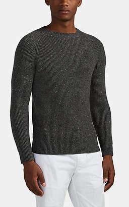 Eleventy Men's Cashmere Crewneck Sweater - Medium Gray