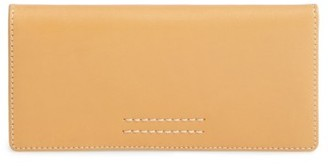 Women's Frye Harness Leather Continental Wallet - Orange $158 thestylecure.com