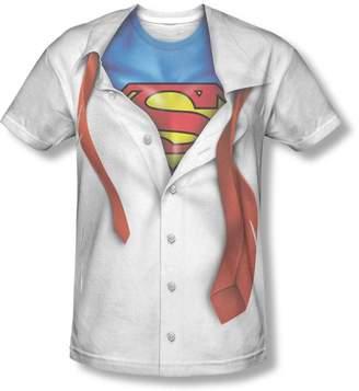Superman I'm Polycrew Sublimated Men's Shirt, 3X-Large
