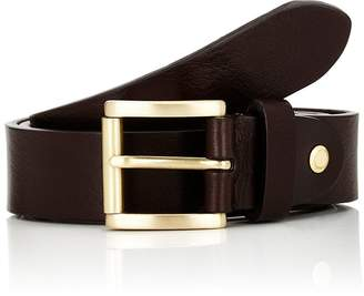 Barneys New York Men's Textured Leather Belt