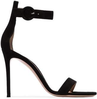 Gianvito Rossi 105 strappy suede sandals