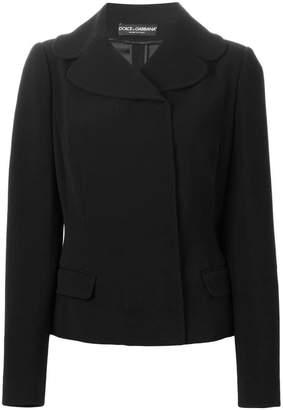 Dolce & Gabbana wide collar jacket