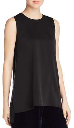 Eileen Fisher Long Silk Tank