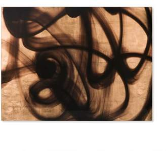 Co Resource Decor Coup and 'Copper Wall Panel - B' Framed Graphic Art Print on Glass