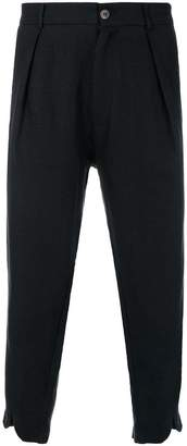 Societe Anonyme v cuffed cropped trousers