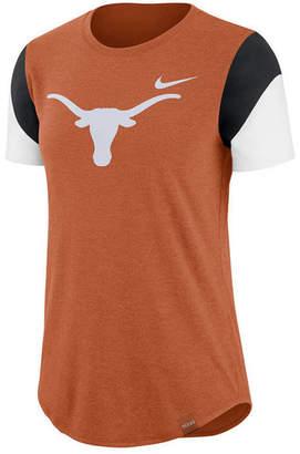 Nike Women Texas Longhorns Tri-Blend Fan T-Shirt