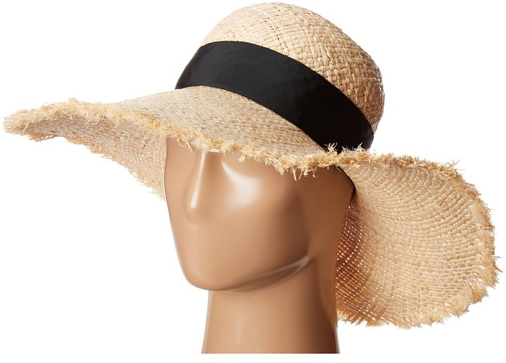 Kate Spade Kate Spade New York - Cinched Bow Sun Hat Traditional Hats