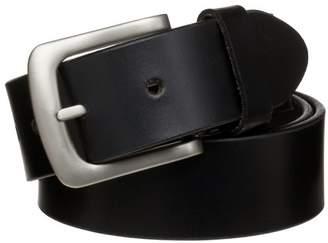 "Danbury Men's 1 1/2"" Basic Bridle Leather Work Belt"
