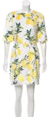 Dolce & Gabbana 2016 Lemon Print Dress w/ Tags
