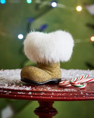 Ino Schaller Golden Santa Boot Collectible
