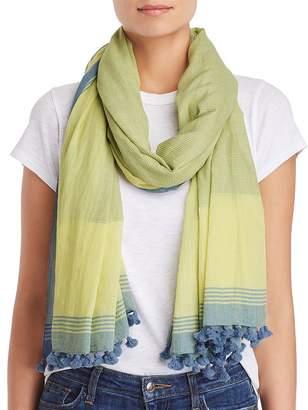 Eileen Fisher Organic Cotton Tassel Scarf