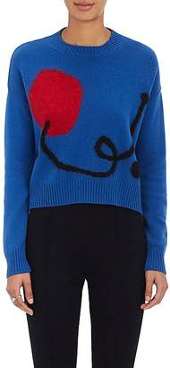 Lisa Perry Women's Abstract-Knit Cashmere-Mohair Sweater