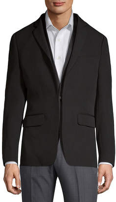 Givenchy Double-Layer Wool & Silk-Blend Blazer