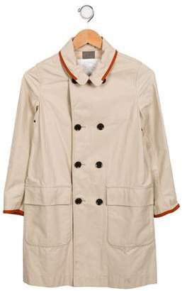 ccce1dd92 Pre-Owned at TheRealReal · Burberry Girls' Double-Breasted Lightweight Coat