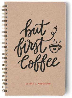 But Coffee First Day Planner, Notebook, or Address Book
