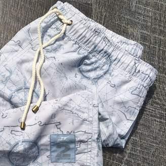 Madda Fella Sandbar Swim Trunk - Map Limited Edition 2