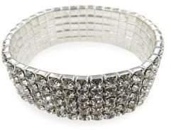 Badgley Mischka Belle by Occasion Crystal Stretch Bracelet