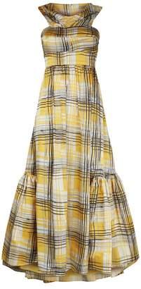 Silvia Tcherassi Brownea Off-The-Shoulder Dress