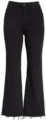 GRLFRND Joan Crop Flare Jeans